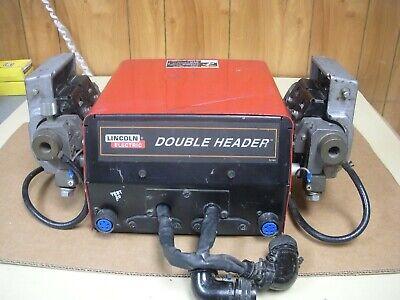 Lincoln 10755 Double Header Welding Wire Feeder