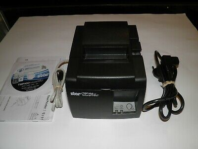 New Star Tsp100 143lan Thermal Pos Receipt Printer W Ethernet Port Power Cable