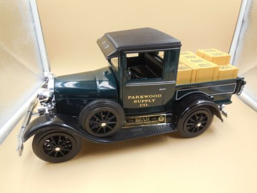 TOP NOTCH JIM BEAM DECANTER / PARKWOOD SUPPLY CO 1928-29 MODEL A PICKUP TRUCK