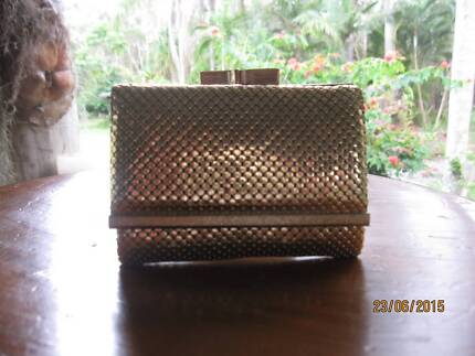 Glomesh Gold Purse Wallet Vintage Unused Trifold 70's Tewantin Noosa Area Preview