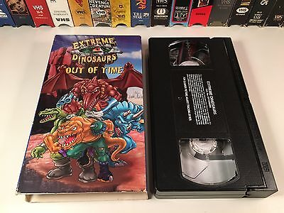 # Extreme Dinosaurs: Out Of Time VHS 1997 Family Prehistoric Dinosaur Animation