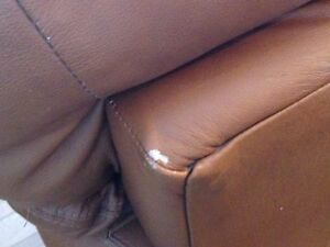 Premium High End Leather Couch Prince George British Columbia image 3