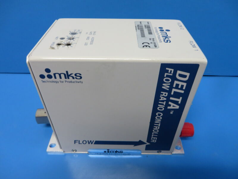 MKS FRCA521163310 Delta Flow Ratio Controller 500 SCCM Gas N2 w/ Cable