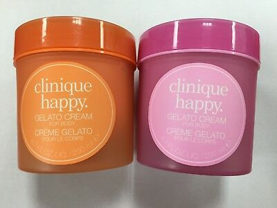 New Clinique Happy Gelato Cream For Body 6.7 oz/200 ml Happy/Berry Blush Scents Clinique Happy Body Cream
