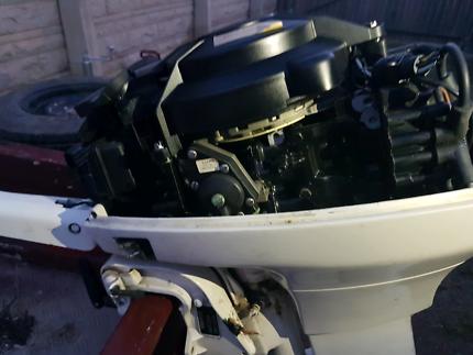 2 x 15hp outboard motors
