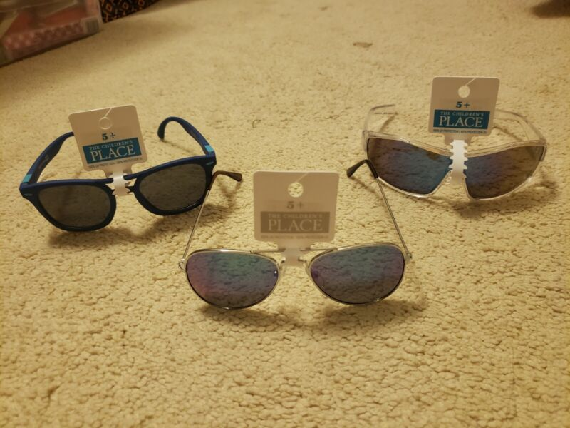 NEW Lot of 3 the childrens place boys sunglasses