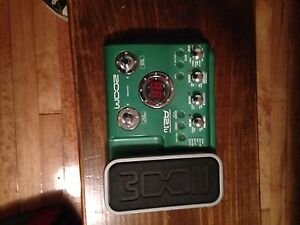 Acoustic multi effects pedal