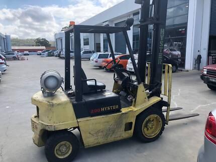 Forklift Hyster 2.0