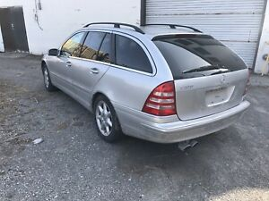 2002 Mercedes C320 Wagon Complete Part Out