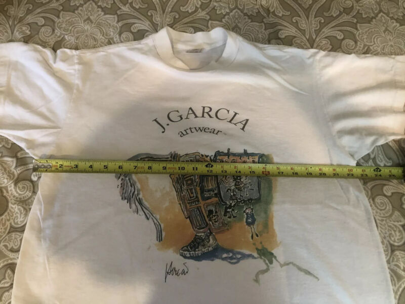 Jerry Garcia Artwear  Shirt 1995 Special Olympics Art Size Large