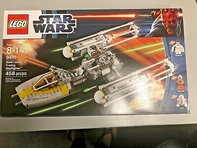 Lego Star Wars 2012  #9495 Gold Leaders Y-wing Strarfighter 458pcs L@@K
