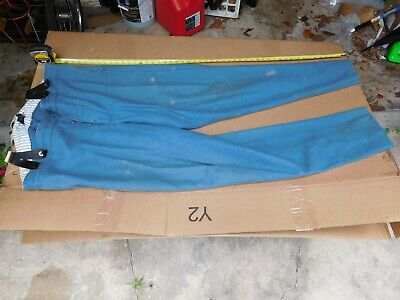 Sky Blue pants XXL Tall, 44/46 x 38. UNION or CSA Confederate, W/suspenders.
