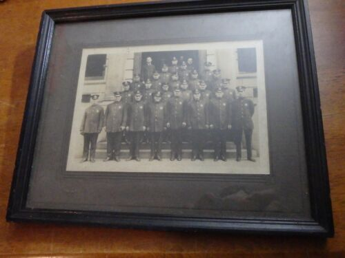 RARE NEW YORK CITY POLICE DEPARTMENT NYCPD EARLY 1900S PHOTOGRAPH