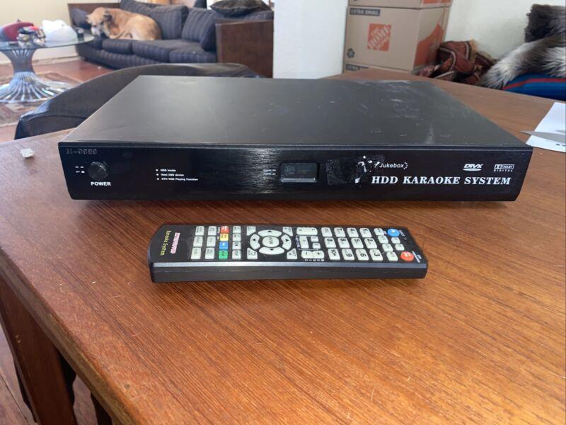 JJ-9999 HDD Karaoke Jukebox System, Hard Drive, w/ Remote