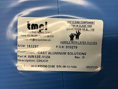 Axcelis 1222865 Chuck Assy Std Dartboard Wr12e-112a Cast Aluminum Solutions