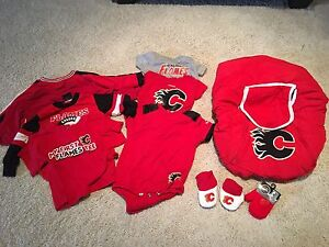 Calgary Flames infant boy clothes & accessories