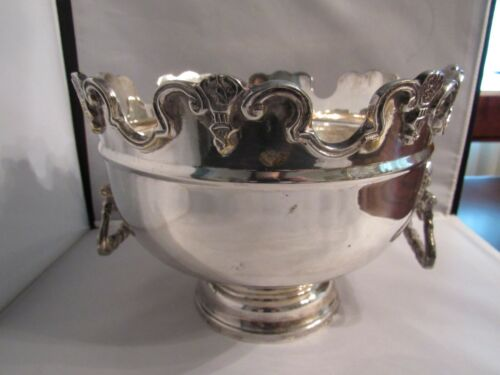 Mottahedeh Silver Monteith Bowl - Discontinued