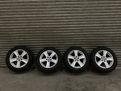 """Bmw X5 E70 18"""" Alloy Wheels And Continental Run Flat Tyres X4"""