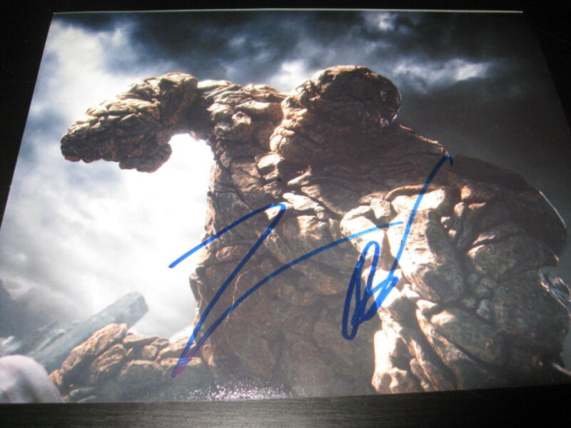 JAMIE BELL SIGNED AUTOGRAPH 8x10 PHOTO FANTASTIC FOUR THING PROMO COA AUTO NY X1