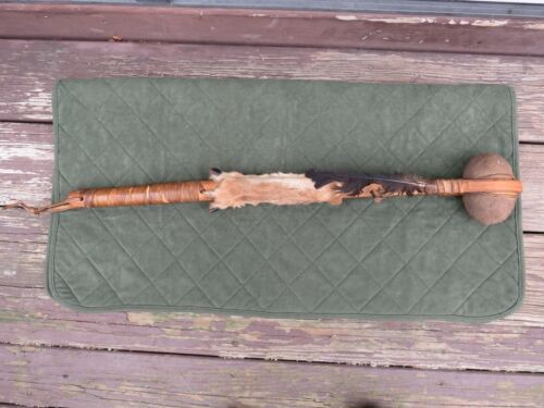 NATIVE AMERICAN INDIAN WAR CLUB 27 ¼ INCHES LONG  Great condition.