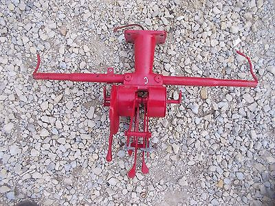 Farmall C Tractor Ih Ihc Hydraulic Control Lever Levers Throttle Light Post