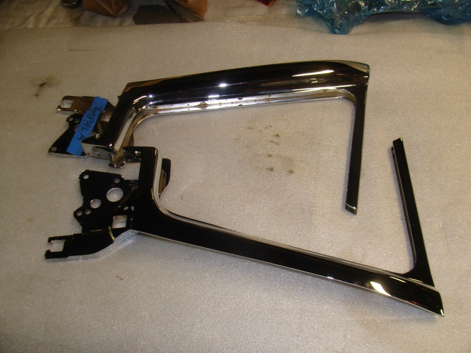 1958 Chevy Impala vent window frames R & L
