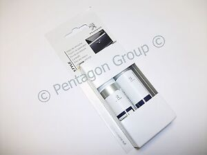 d 39 origine peugeot retouche peinture crayon kit aluminium gris ezr 986381 ebay. Black Bedroom Furniture Sets. Home Design Ideas