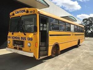 1990 Hino PMC Ex.School Bus use as is or build your own camper Walkley Heights Salisbury Area Preview