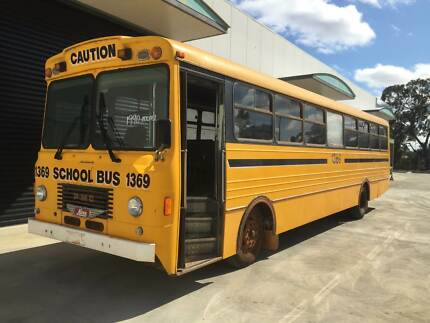 1990 Hino PMC Ex.School Bus use as is or build your own camper
