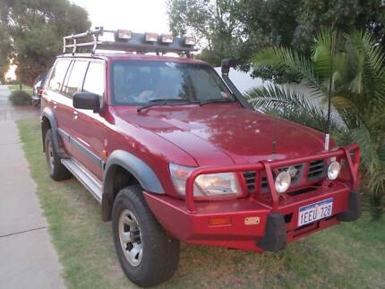 "1998 Nissan Patrol Wagon DUEL FUEL"" BIG RED"""