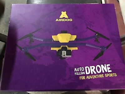 Airdog Auto-follow Drone: Employed less than 3 times with extra battery