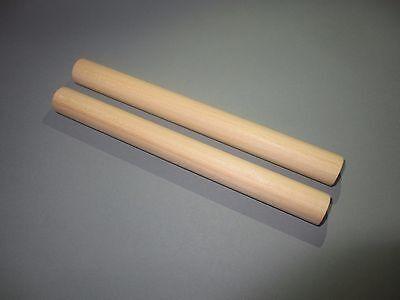 Klanghölzer Claves Musikinstrument aus Holz für Kinder Perkussion Kids - Junior