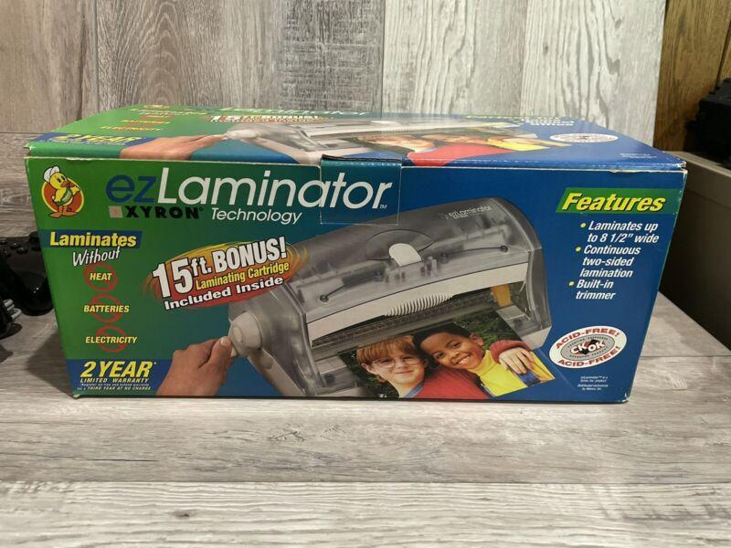 NEW EZ Laminator Xyron Technology Laminating Machine
