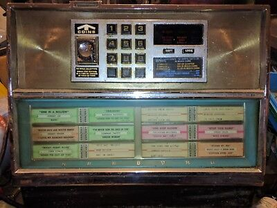 Vntg SEEBURG WALL BOX JUKEBOX SELECTOR DEC Digital Electronic Consolette