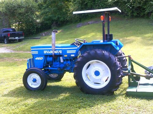 Ford Long 460..Model 1529...Runs Excellent..WITH 5 FOOT BUSH-HOG...
