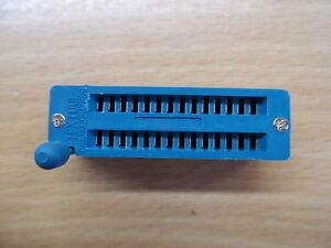 28pin ZIF socket for DIL ICs Textool 0.3