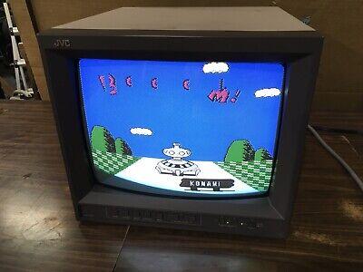 "JVC TM-A130SU 13"" Vintage CRT Gaming Monitor Sony PVM Production Year 1999"