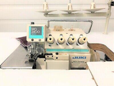 Juki Mo-2416n 5 Thread Safety Stitch 110 Volt Industrial Sewing Machine