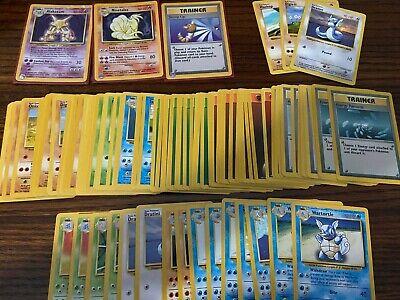 Huge !!! Base Pokemon Card Lot - Holos Rares Uncommon Common Shadowless
