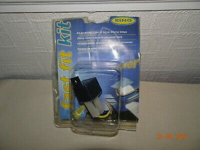 RING RLFK200 FAST FIT PRE-WIRED DRIVING/FOG LAMP WIRING KIT DAMAGED PACKAGING