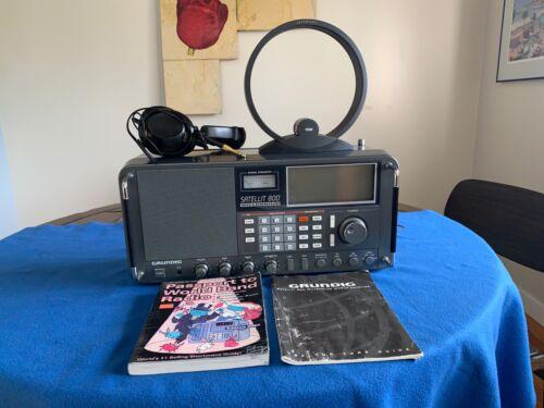 Grundig Satellit 800 Millennium Shortwave AM FM Radio Receiver - See Photos