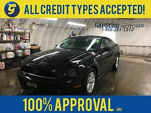 2013 Ford Mustang PREMIUM*COUPE*V6*KEYLESS ENTRY*ALLOYS*ONE TOUC