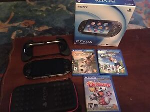PlayStation Vita System, Games, Accessories