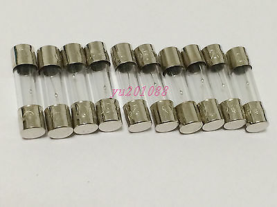NEW 10pcs 750mA F0.75A 250V 5x20mm Quick Blow Glass Fuses