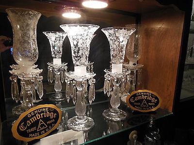 Cambridge Rosepoint Trumpet Hurricanes 1613/1614  Pair