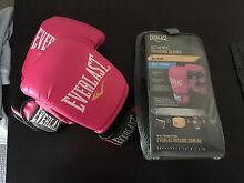 Barely used kickbox gloves+ Dvds Macquarie Park Ryde Area Preview