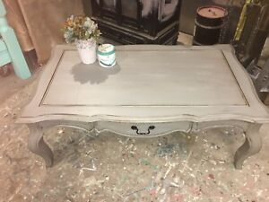 Shabby Chic Painted Coffee Table