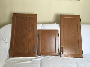 Oak cabinet and drawer fronts