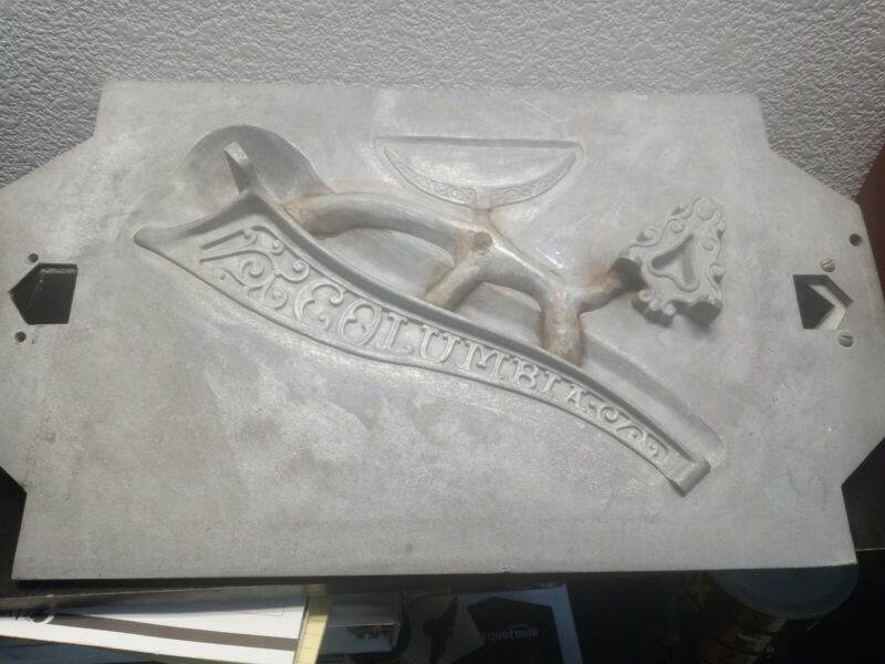 Columbia records  Industrial Cast Aluminum Foundry Mold