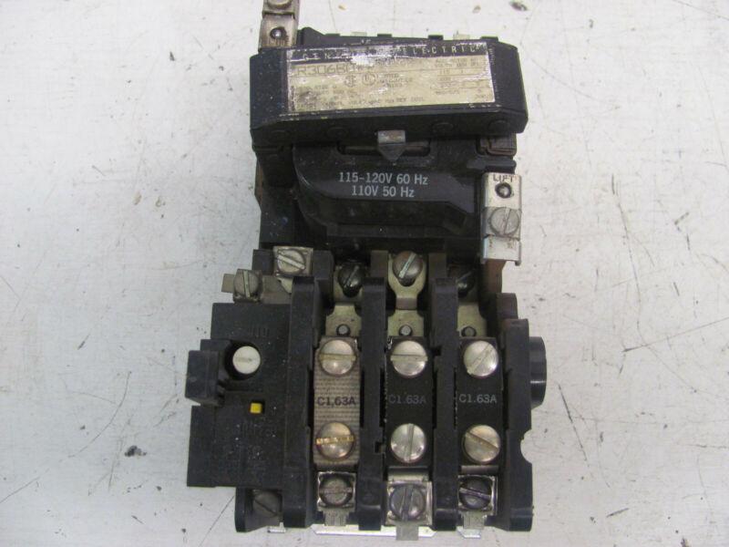General Electric Cr306b0** Size 0 Motor Starter